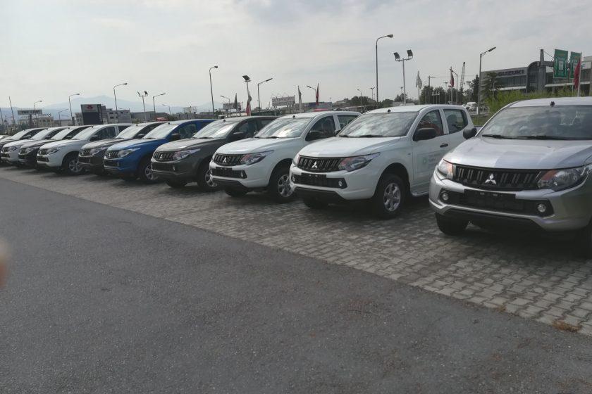 Δωρεά δέκα τετρακίνητων οχημάτων στην ΑΔΜΘ από τoν TAP
