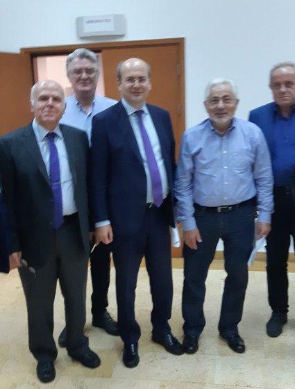 Συνάντηση των Συντονιστών Αποκεντρωμένων Διοικήσεων με τον Υπουργό Περιβάλλοντος & Ενέργειας κ. Κωνσταντίνο Χατζηδάκη