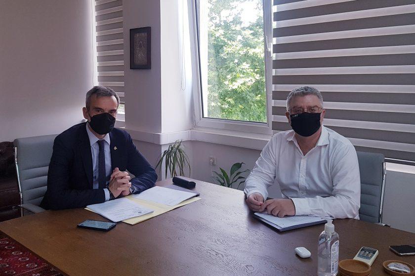 Συνάντηση του Δημάρχου Θεσσαλονίκης με τον Συντονιστή της Αποκεντρωμένης Διοίκησης Μακεδονίας – Θράκης