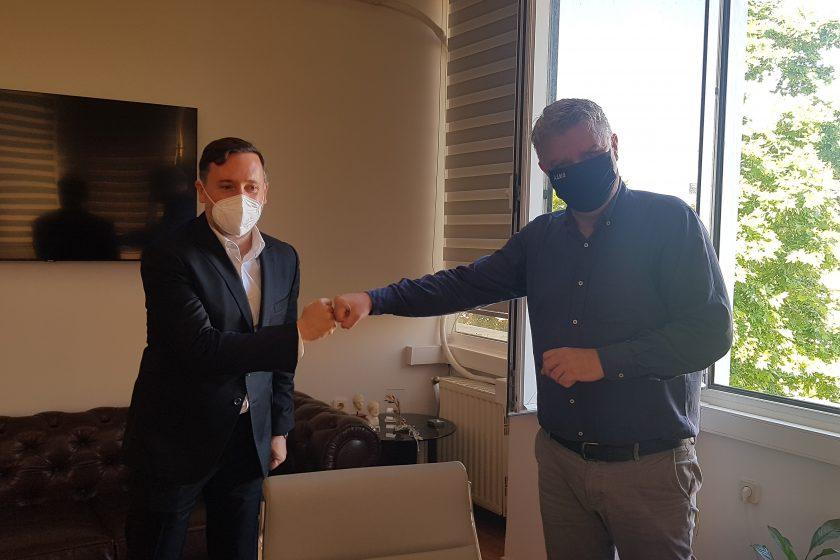 Συνάντηση του Συντονιστή Α.Δ.Μ-Θ. με το δήμαρχο Αλεξανδρούπολης