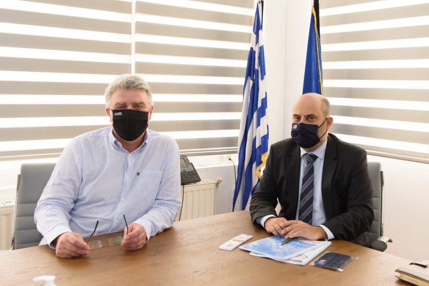 Ο Διοικητής της Εθνικής Αρχής Διαφάνειας στην Αποκεντρωμένη Διοίκηση Μακεδονίας-Θράκης